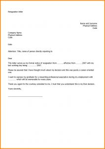 Relieving Letter Template - Job Letter Writing Examples Fius