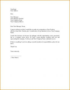 Relieving Letter Template - Resignation Letter Free Template Download Fresh Relieving Letter