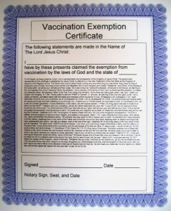 Religious Exemption Letter Template - the Story Immunization Waiver form Texas