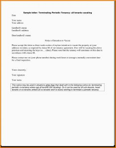 Rent Agreement Letter Template - 62 New Termination Lease Agreement Letter From Landlord