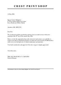 Rental Agreement Letter Template - Rental Agreement Vs Lease Fresh Tenancy Agreement Renewal Template