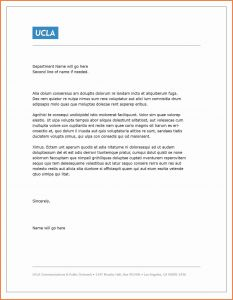 Rental Letter Template - Rent Letter Template Collection