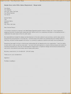 Repo Letter Template - Example Cover Letter for Web Design Job Best Cover Letter Examples