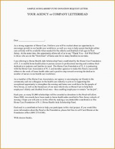 Request for Donation Letter Template - 29 Best Donation Request Letter format