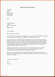 Request for Donations Letter Template - Ficial Letter for Request Popular Writing A Letter asking for