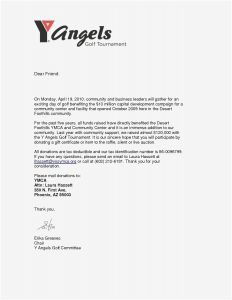 Request for Donations Letter Template - Letter asking for Donations to Raffle New Example Letter to Request