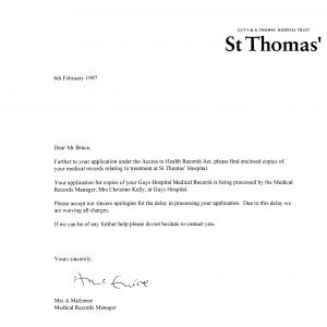 Request for Medical Records Template Letter - Request for Medical Records Template Letter Samples