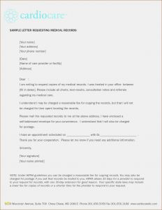 Request for Medical Records Template Letter - Invoice for Medical Records Request Best Template to Request Medical