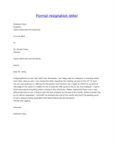 Resignation Letter From Board Of Directors Template - Resignation Letter From A Job Zaxa