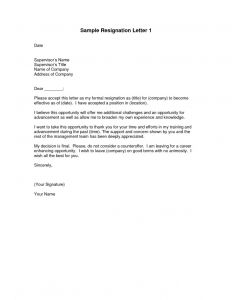 Resignation Letter From Board Of Directors Template - Letter to Board Of Directors Template