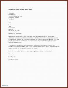 Resignation Letter Template 2 Weeks Notice - Resignation Letter format In Emails Letter Resignation 2 Weeks