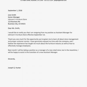 Resignation Letter Template Uk - Tips for Writing A Letter Of Resignation with Samples