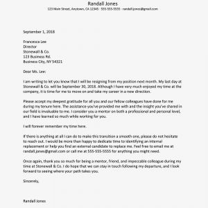 Resignation Letter Template Uk - sincere and Appreciative Resignation Letters