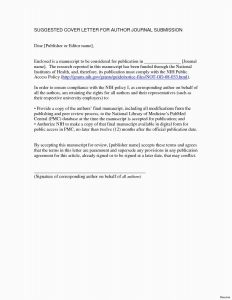 Resume Cover Letter Template Free Download - 29 Free Cover Letter for Resume format Model