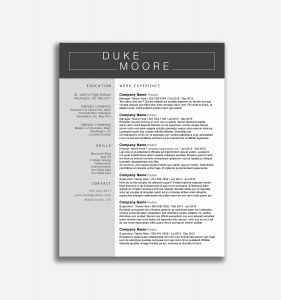 Resume Cover Letter Template Word - Free Resume Cover Letter Template Word Reference 18 New Resume and