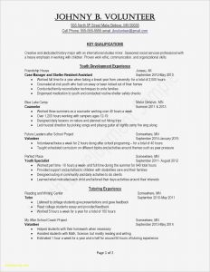 Resume Cover Letter Template Word - Sample Cover Letter Template Word Gallery