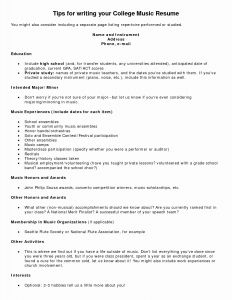 Resume Letter Template - Cover Letter Template for Teenager Collection