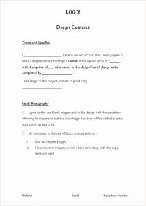 Retainer Letter Template - Free Graphic Design Contract Template Luxury Graphic Design Retainer