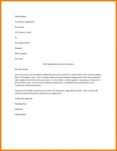 Return From Maternity Leave Letter Template From Employer - Maternity Leave Letter Sampleternity Employer Appeal Letters Sample