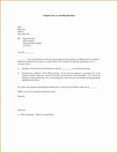 Return to Work Letter after Maternity Leave Template - Nice Return to Work Letter Gallery Resume for Retired