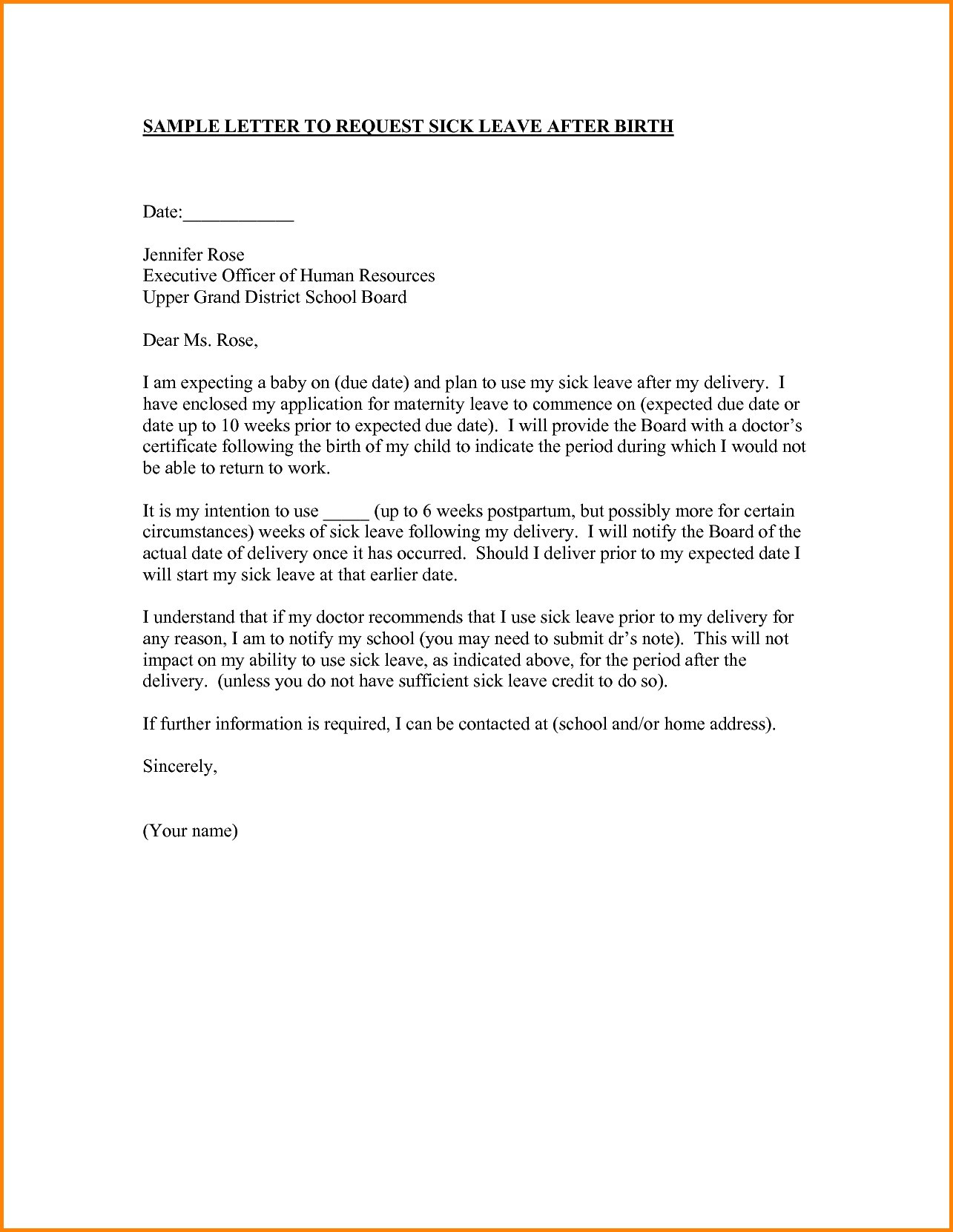 return to work letter after maternity leave template example-Maternity Return To Work Letter From Employer Template Best Resuming Work After Maternity Leave Going Back To Work After 17-j