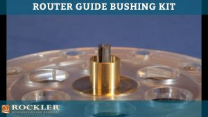 Router Letter Template Kit - Rockler Router Guide Bushing Kit