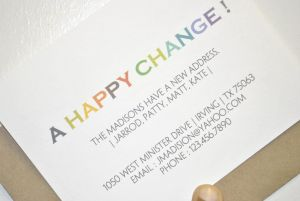Salon Price Increase Letter Template - A Happy Address Change Moving Annoucement Card