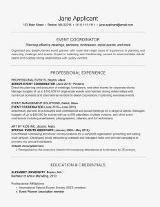 Salon Price Increase Letter Template - event Planner Resume and Cover Letter Examples