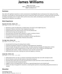 Salon Price Increase Letter Template - Hair Stylist Resume Example Salon – Shahrvandemrouz