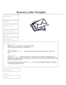 Sample Business Letter Template - Proper format for A formal Letter Zaxa