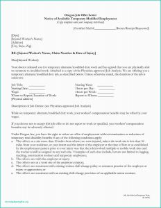 Sample Job Offer Letter Template - Counter Fer Letter Examples Job Fer Letter In Word format