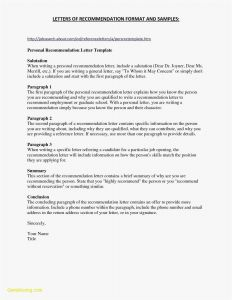 Satisfaction Of Judgement Letter Template - Letter Remmendation format Template Job Save Re Mendation Letter