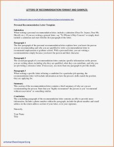 Scholarship Letter Of Recommendation Template - Letter Re Mendation for Scholarship Template Cv Templates