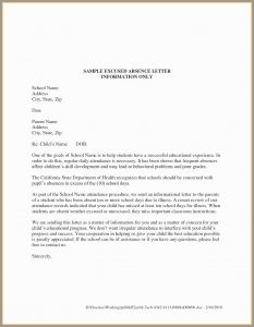 School Absence Excuse Letter Template - Dental Excuse Letter Template New Dental Excuse Letter for Work