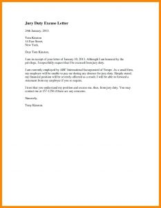 School Excuse Letter Template - Sample Excuse Letter for School Absence