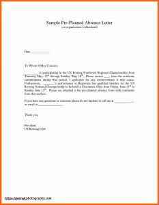School Excuse Letter Template - 32 Awesome Absent Letter for School