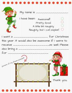 Secret Santa Letter Template - Secret Santa Letter Free Blank Santa Letter Template solidaphikworks