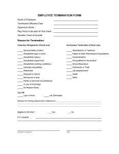 Severance Letter Template - Severance Letter Template Free Sample