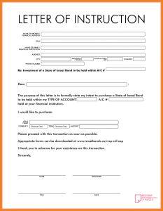 Shipper Letter Of Instruction Template - Shipper Letter Instruction Template Downloadable Shipper Letter