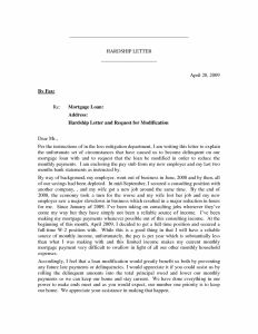 Short Sale Hardship Letter Template - Short Sale Letter