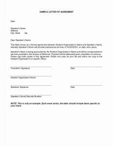 Signed Letter Template - Release Liability Letter Template Examples