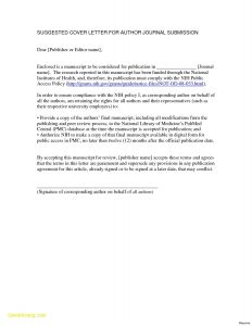 Signed Letter Template - Fillable Cover Letter Template Download