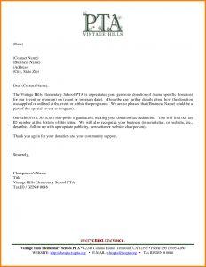 Silent Auction Donation Letter Template - Christmas Donation Letter Template top Rated Sample Thank You Letter