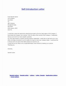 Simple Cover Letter Template - Cover Letter Template – Cover Letter Intro Unique Presentation