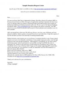 Solicitation Letter Template - Covering Letter format for Donation New Charity Donation Request