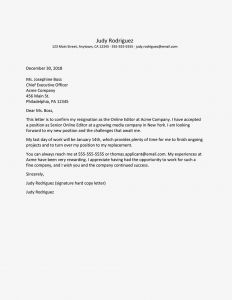Sorry We Missed You Letter Template - Resignation Letter Sample with Thank You