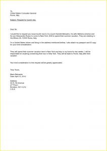 Sponsorship Letter Template - Sponsorship Letter for Us Visa Beautiful formal Letter Template