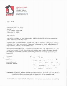 Sponsorship Letter Template - Sponsorship Letter Template Reference Tax Donation Letter Template