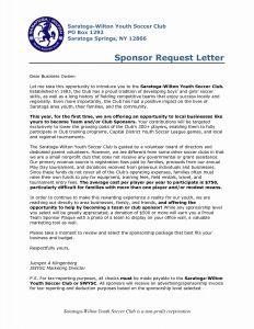 Sponsorship Letter Template for Non Profit - Sponsorship Letter Template for Non Profit Examples