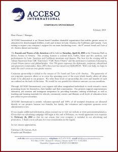 Sponsorship Proposal Letter Template - Samples Proposal Letters for Sponsorships Copy Dirt Track Racing